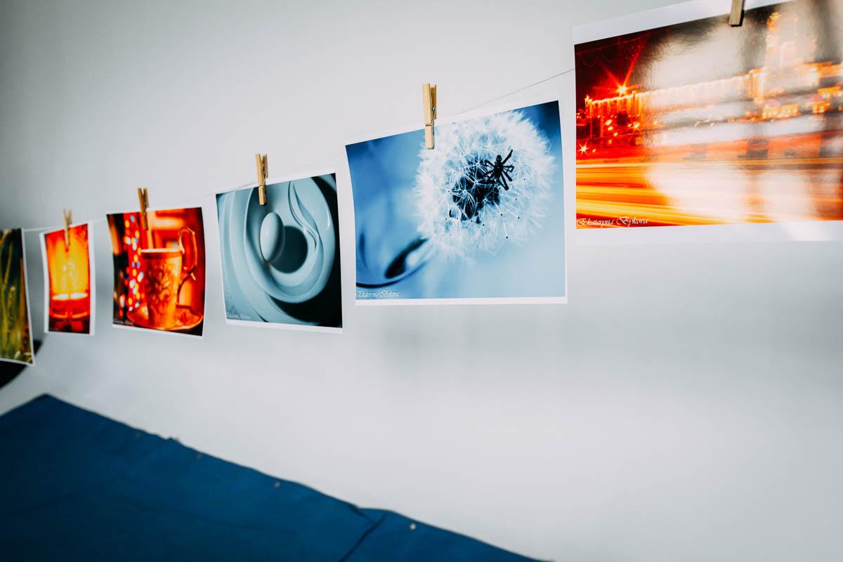 Дипломные проекты фотографов