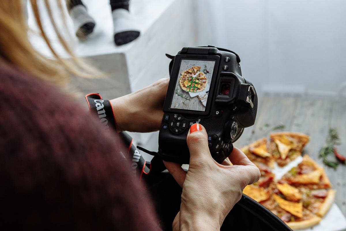 Как красиво редактировать фото на айфоне блюдо можно