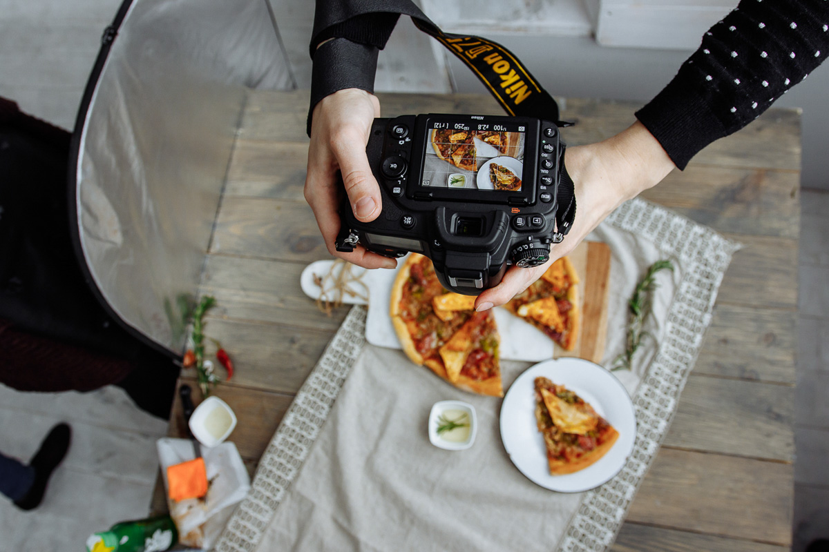 карьере фото еды как правильно сделать кадр господня нужно